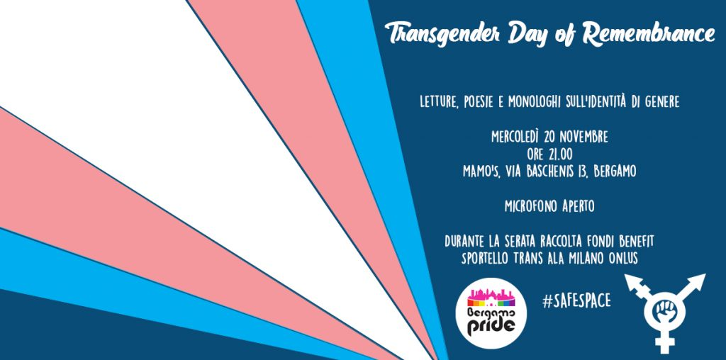transgender day of remembrance bergamo