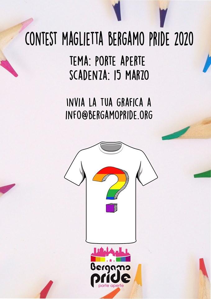 contest maglietta bergamo pride